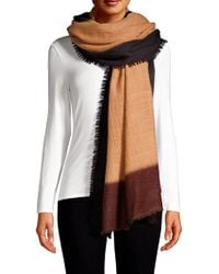 Bajra - Color Block Cashmere Shawl Scarf - Lyst