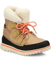 Sorel - Cosy Carnival Nylon & Fleece Boots - Lyst