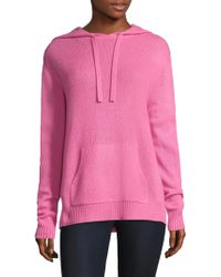 360cashmere - Bow Jumper Hoodie - Lyst