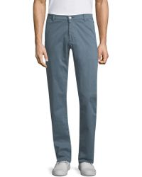 AG Jeans - Lux Tailored Leg Trousers - Lyst