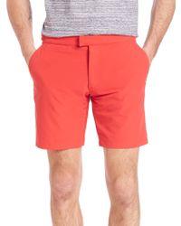 Saks Fifth Avenue - Modern Hybrid Stretch Swim Shorts - Lyst