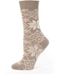 Ilux - Lumi Snowflake Socks - Lyst