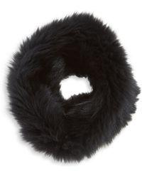 Loeffler Randall - Fox Fur Cowl Scarf - Lyst