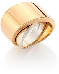 Vhernier - Tourbillon 18k Rose Gold Ring - Lyst