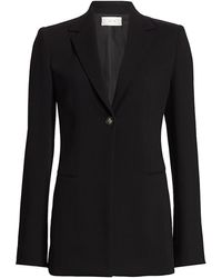 The Row Kiro Wool Jacket - Black