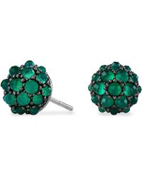 David Yurman - Osetra Stud Earrings With Faceted Gemstones - Lyst