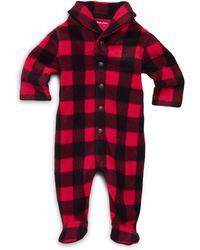 Ralph Lauren - Baby Boy's Buffalo Plaid Coverall - Lyst
