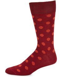 Paul Smith - Polka Dot Crew Socks - Lyst