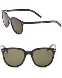 Dior - 51mm Transparent Square Sunglasses - Lyst