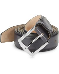 Sutor Mantellassi - Carter Roccia Adjustable Leather Belt - Lyst