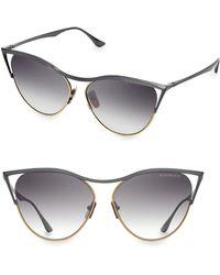 f1df681e73 Lyst - Dita Eyewear Stormy Cateye Sunglasses in Black