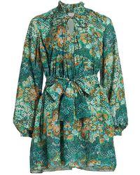 Chufy Memories Of Romania Lidia Dress - Green