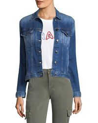 FRAME Vintage Style Denim Jacket - Blue