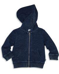 Splendid - Baby's Yarn-dyed Zip Hoodie - Lyst