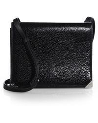 Alexander Wang - Prisma Double Envelope Leather Shoulder Bag - Lyst