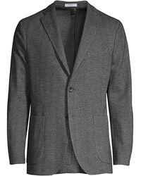 Boglioli Herringbone Sports Coat - Gray