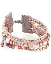 Chan Luu | Mix Beaded Multi-row Bracelet | Lyst