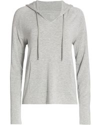 Majestic Filatures French Terry Hoodie - Gray