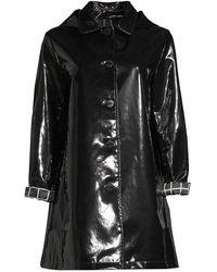Jane Post Iconic Slicker Jacket - Black