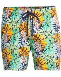 Vilebrequin - Okorise Jungle Superflex Swim Trunks - Lyst