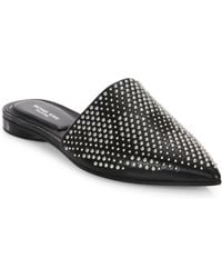 Michael Kors | Darla Leather Flat Mules | Lyst