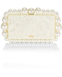 Cult Gaia Eos Bauble Acrylic Box Clutch - White