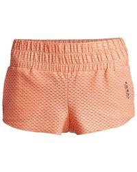 Koral Radiant Netz Shorts - Orange
