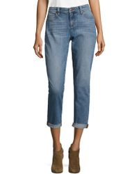 Eileen Fisher - Organic Cotton Boyfriend Jeans - Lyst