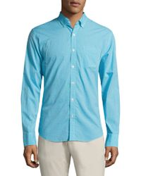 Bonobos - Slim-fit Long Sleeve Gingham Shirt - Lyst