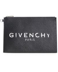 Givenchy Black Paris Iconic Pouch