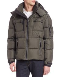 Sam. - Quilted Goose Down Jacket - Lyst