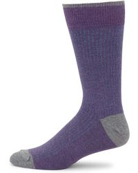 Saks Fifth Avenue - Collection Stripe Knitted Socks - Lyst