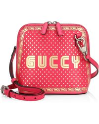 Gucci - Guccy Sega? Print Mini Shoulder Bag - Lyst