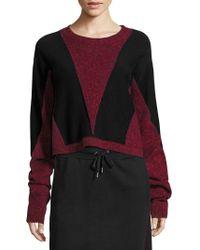 Public School - Sana Colorblock Sweater - Lyst