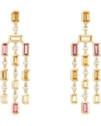 David Yurman - Novella Hampton Gemstone & Diamond Chandelier Earrings - Lyst