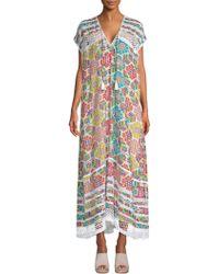 Carolina K - Sabina Kaftan Dress - Lyst