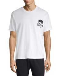 The Kooples - Graphic Cotton Tee - Lyst