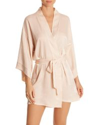 In Bloom - Reminisce Satin Robe - Lyst