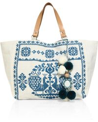 Star Mela - Palma Embroidered Tote - Lyst