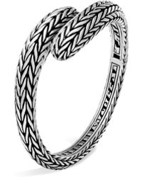 John Hardy - Classic Chain Sterling Silver Bangle - Lyst
