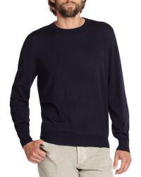 Brunello Cucinelli - Wool/cashmere Crewneck Sweater - Lyst