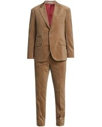 Brunello Cucinelli Classic Corduroy Suit - Natural