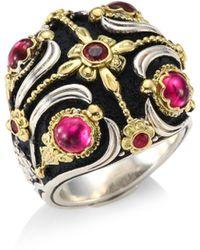Konstantino - Nemesis Pink Tourmaline Ring - Lyst