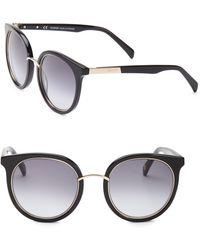 Balmain - 51mm Round Sunglasses - Lyst