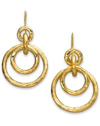 Ippolita - Glamazon 18k Yellow Gold Mini Jet Set Drop Earrings - Lyst