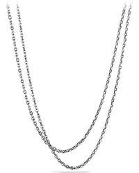 "David Yurman - Oval Link Chain Necklace/36"" - Lyst"