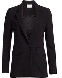 Joie Tabora One-button Blazer - Black