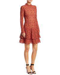 Jonathan Simkhai - Guipure Lace Mini Dress - Lyst