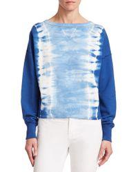 Ralph Lauren Collection - Boby Tie-dye Cotton Sweatshirt - Lyst