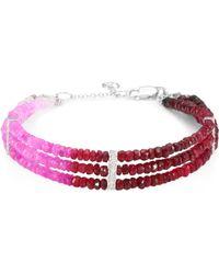 Meira T - Diamond & Ruby Bracelet - Lyst